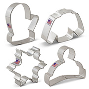 Winter Cookie Cutter 4 pc set