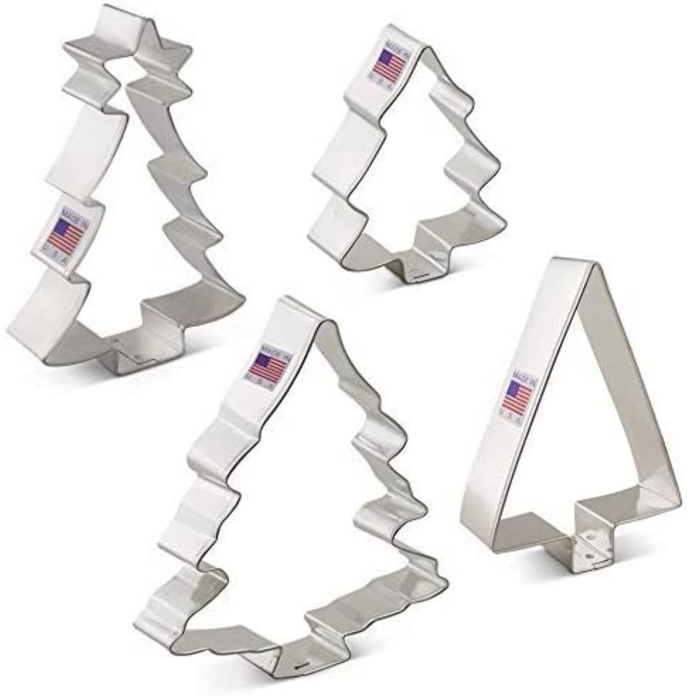Tree Cookie Cutter 4 pc Set