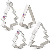 Tree 4 pc Cookie Cutter Set