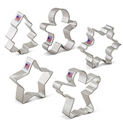 Christmas Cookie Cutter 5 pc