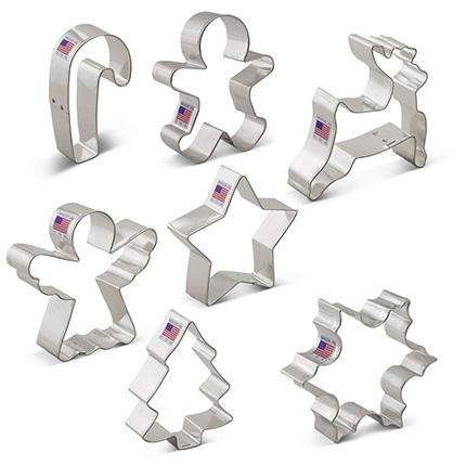 Christmas Cookie Cutter 7 pc set