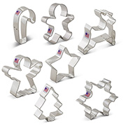 Christmas Cookie Cutter 7 pc