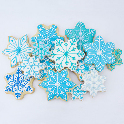 Snowflake Cookie Cutter 7 pc set