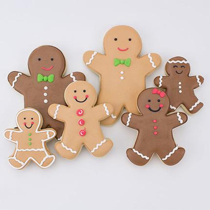 Gingerbread Man Cookie Cutter 7 pc set