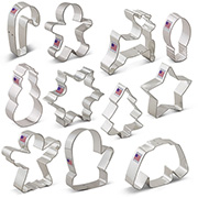 Holiday Cookie Cutter 11 pc Set