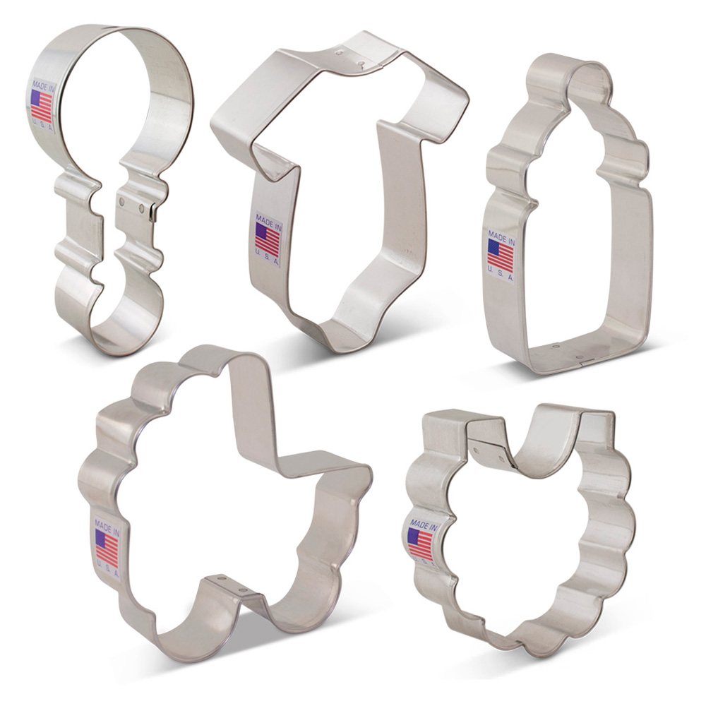 Baby Shower Cookie Cutter 5 pc Set