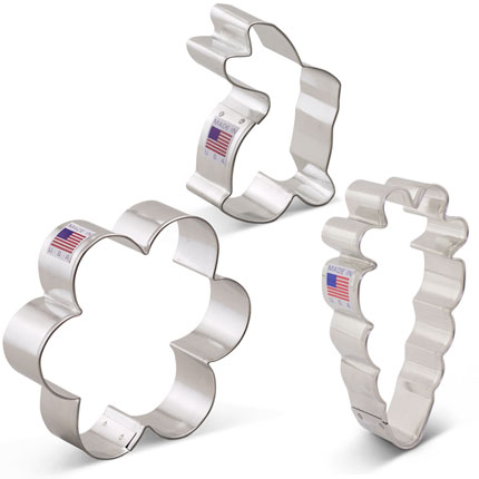 Easter Cookie Cutter 3 pc Set