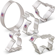 Easter Cookie Cutter 5 pc set