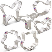 Spring Cookie Cutter 6 pc Set