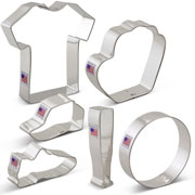 Baseball Cookie Cutter 6 pc Set