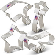 Graduation Cookie Cutter 4 pc Set