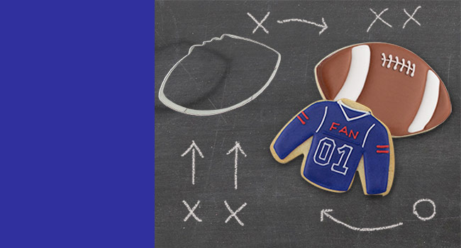 Shop Football Cookie Cutters