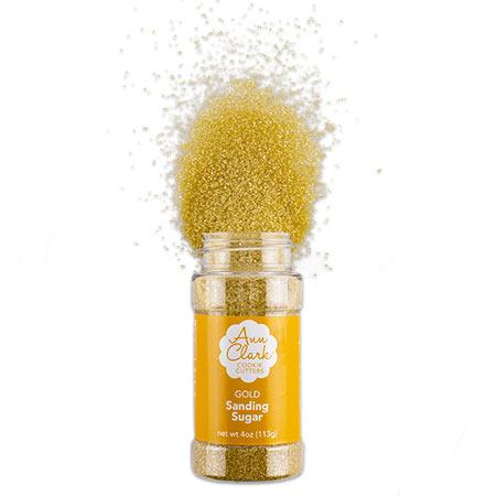 Ann Clark Cookie Cutters Gold Sanding Sugar