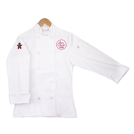 Ann Clark Adult Long Sleeve Double Breasted Chef's Coat