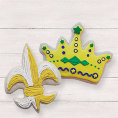Shop Mardi Gras Cookie Cutters