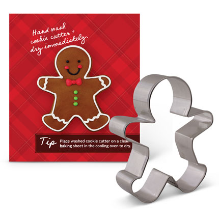 Custom-King Arthur Flour Gingerbread Cookie Cutter