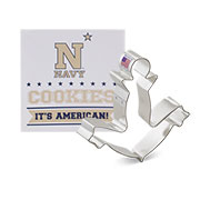 Custom-Naval Academy Athletic Association Cookie Cutter