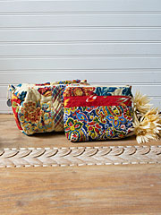 Kindred Patchwork Cosmetic Bag Bundle