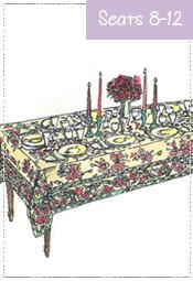 Harvest Tablecloth 60x108