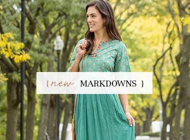 Clothing Markdowns