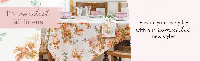 April Cornell Tablecloths! Heirloom Quality Tablecloths, Runners, Napkins,  Placemats And More! Original Prints, Unique Colors, And Superior Quality.