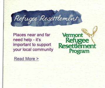 Vermont Refugee Resettlement