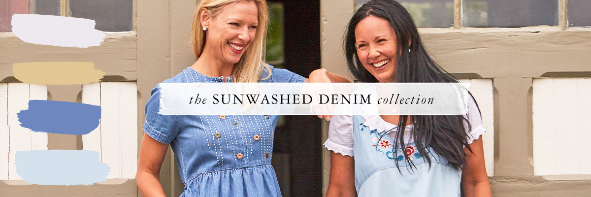 The Sunwashed Denim Collection