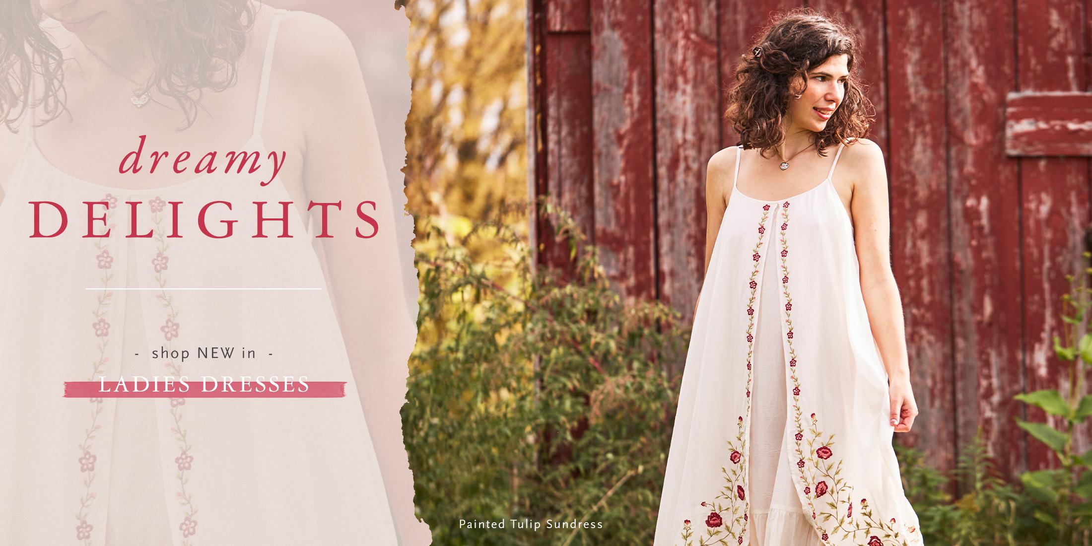 Painted Tulip Sundress - Shop Dresses