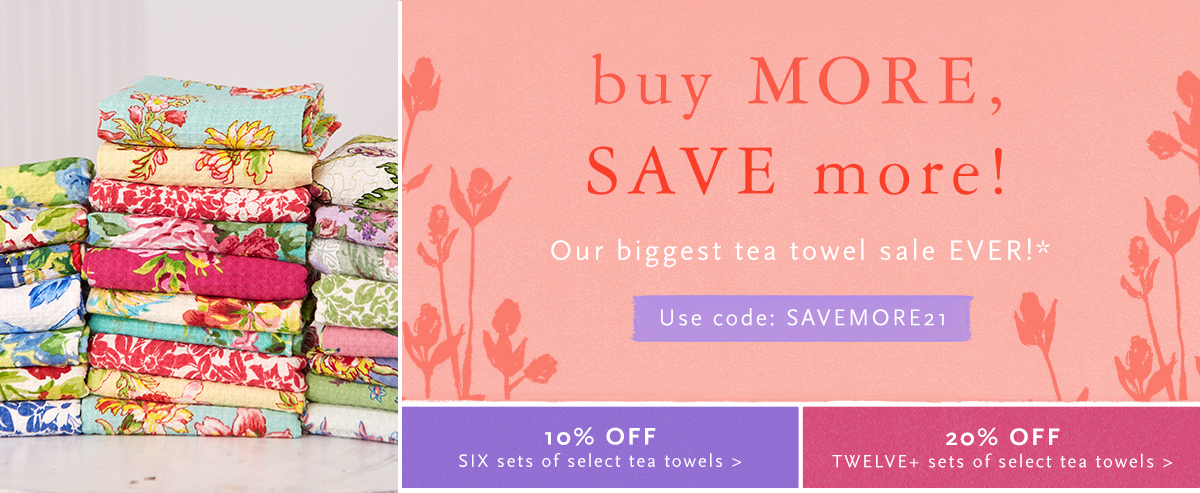 Tea Towel Sale
