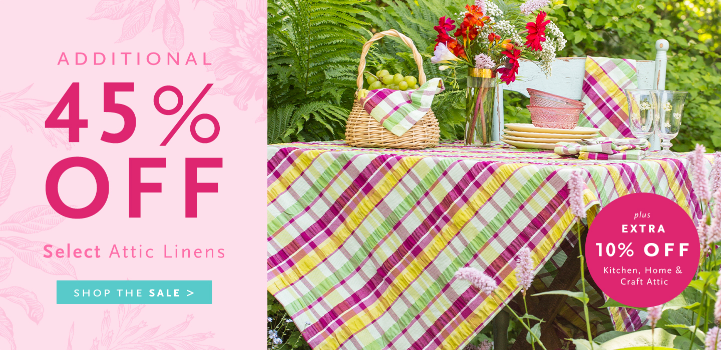 Up to 20% Off Select Linens