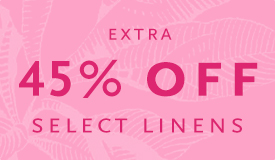 Up to 45% Off Select Linens