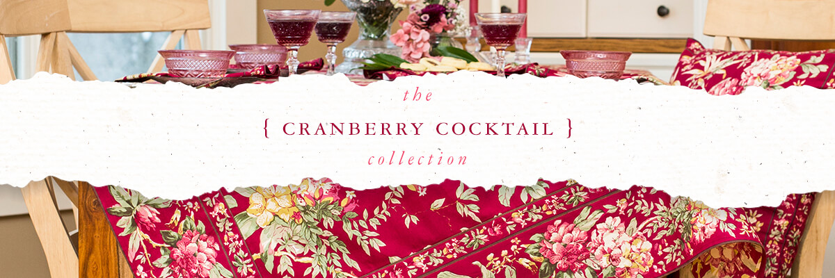 The Cranberry Cocktail Collection