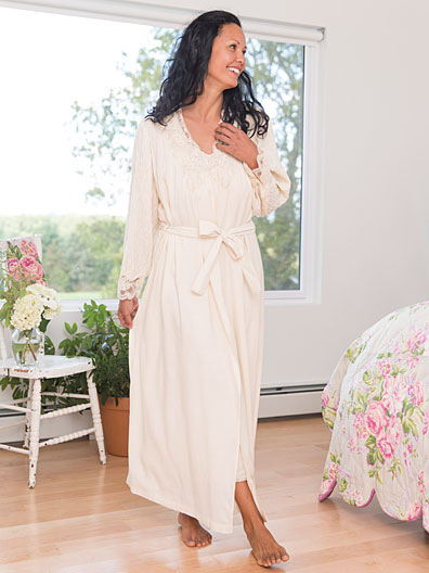 Jasmine Dressing Gown | Attic Sale, Ladies Attic :Beautiful Designs ...