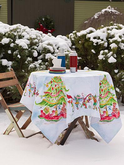 Elves Tablecloth Linens Amp Kitchen Tablecloths