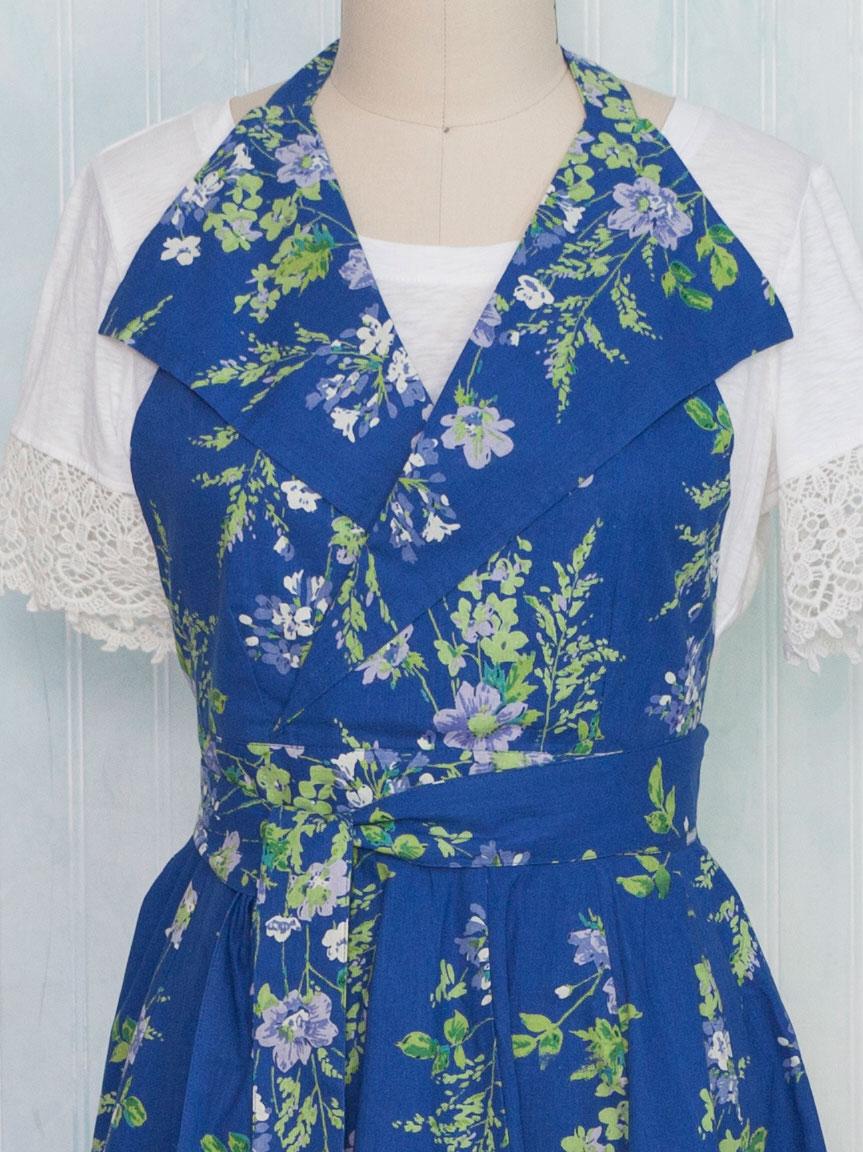 Prairie Collar Apron   Attic Sale, Linens & Kitchen Attic :Beautiful ...