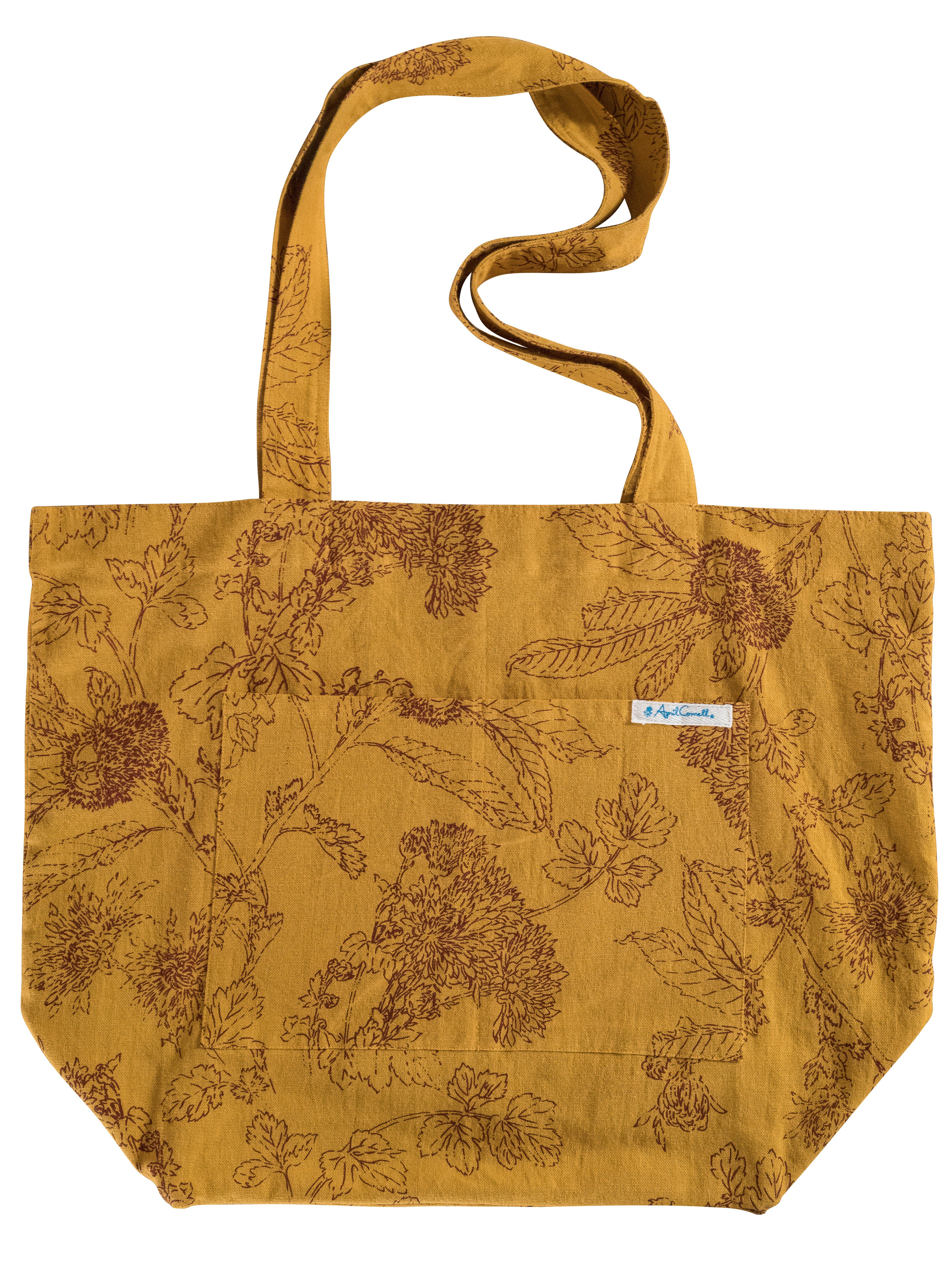 April Cornell Bedding Chestnut Market Bag | Accessories, Bags :Beautiful Designs ...