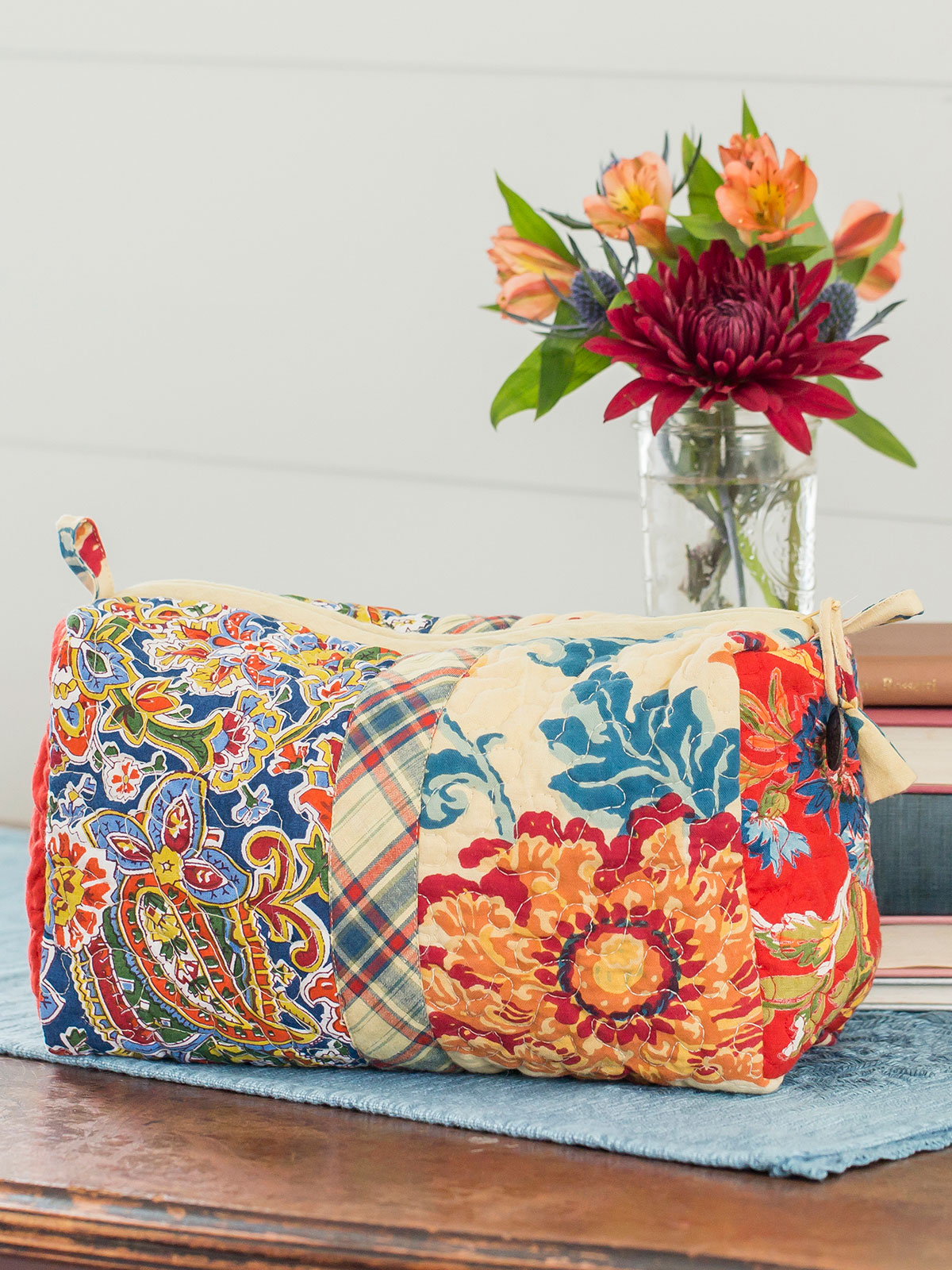 Kindred Patchwork LG Cosmetic Bag
