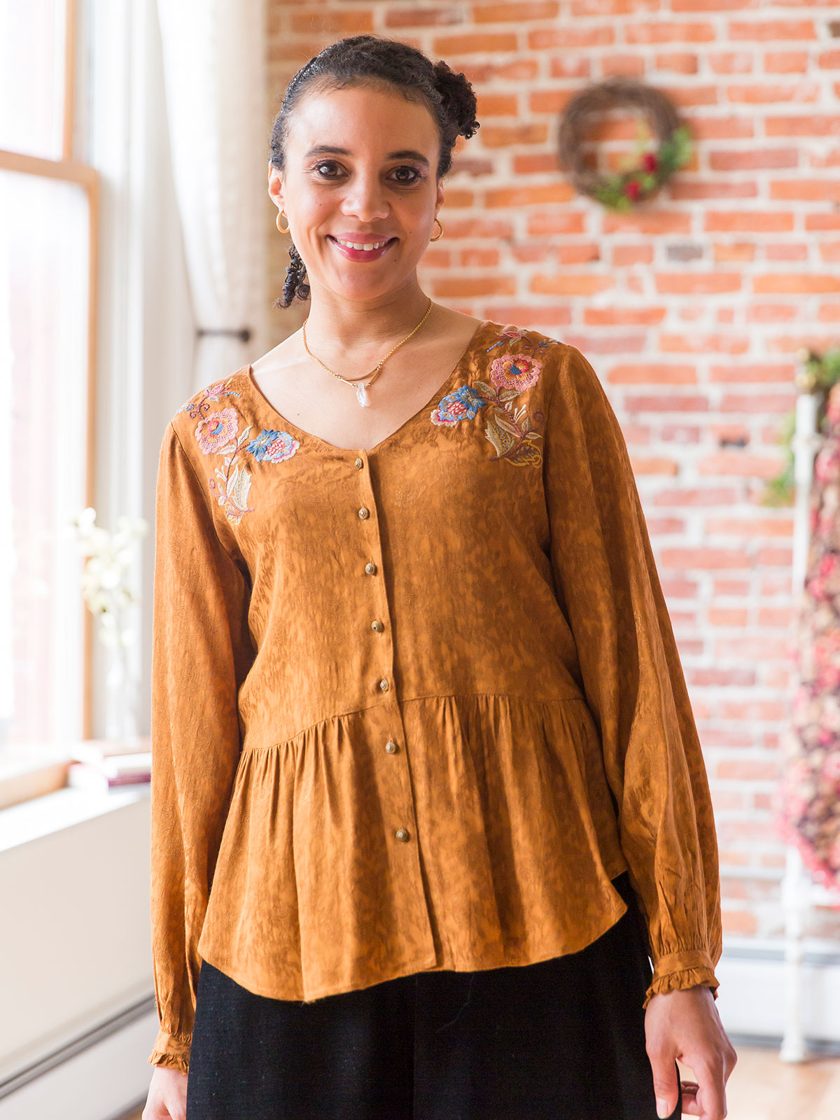 Fields of Gold Blouse