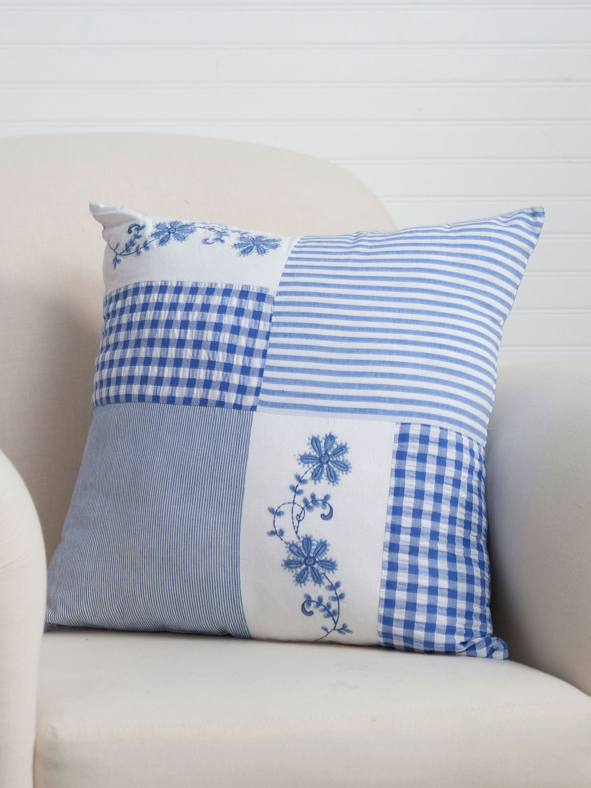 Picnic Patchwork Cushion Cover