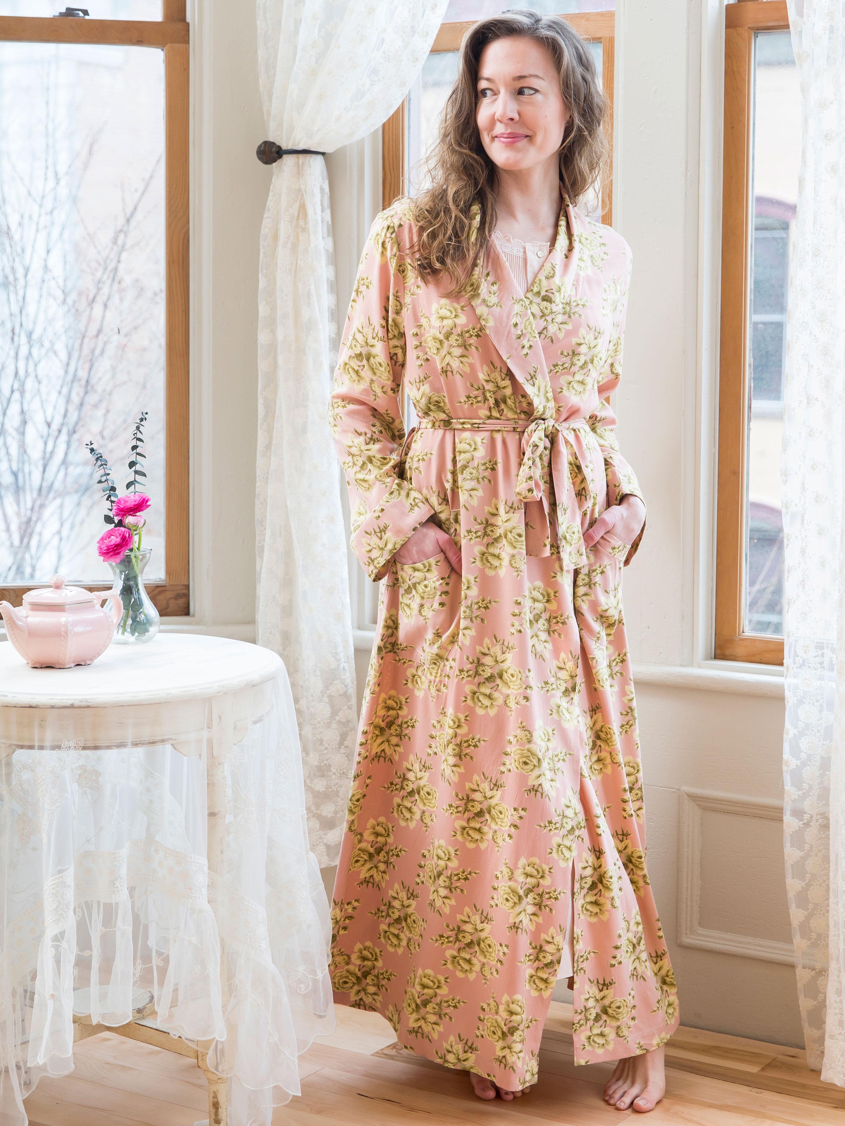 Stephanie Dressing Gown | Attic Sale, Ladies Attic :Beautiful ...