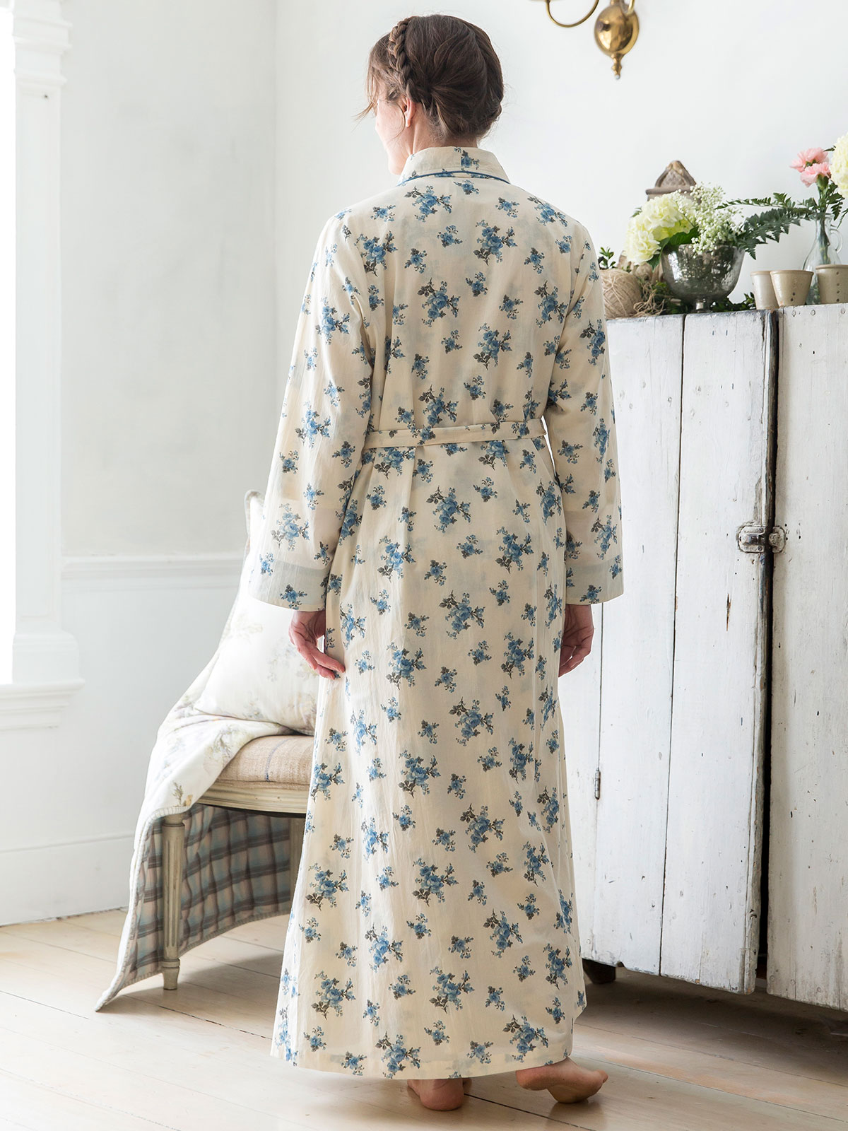 Shy Rose Dressing Gown | Ladies Clothing, Nighties & Dressing Gowns ...