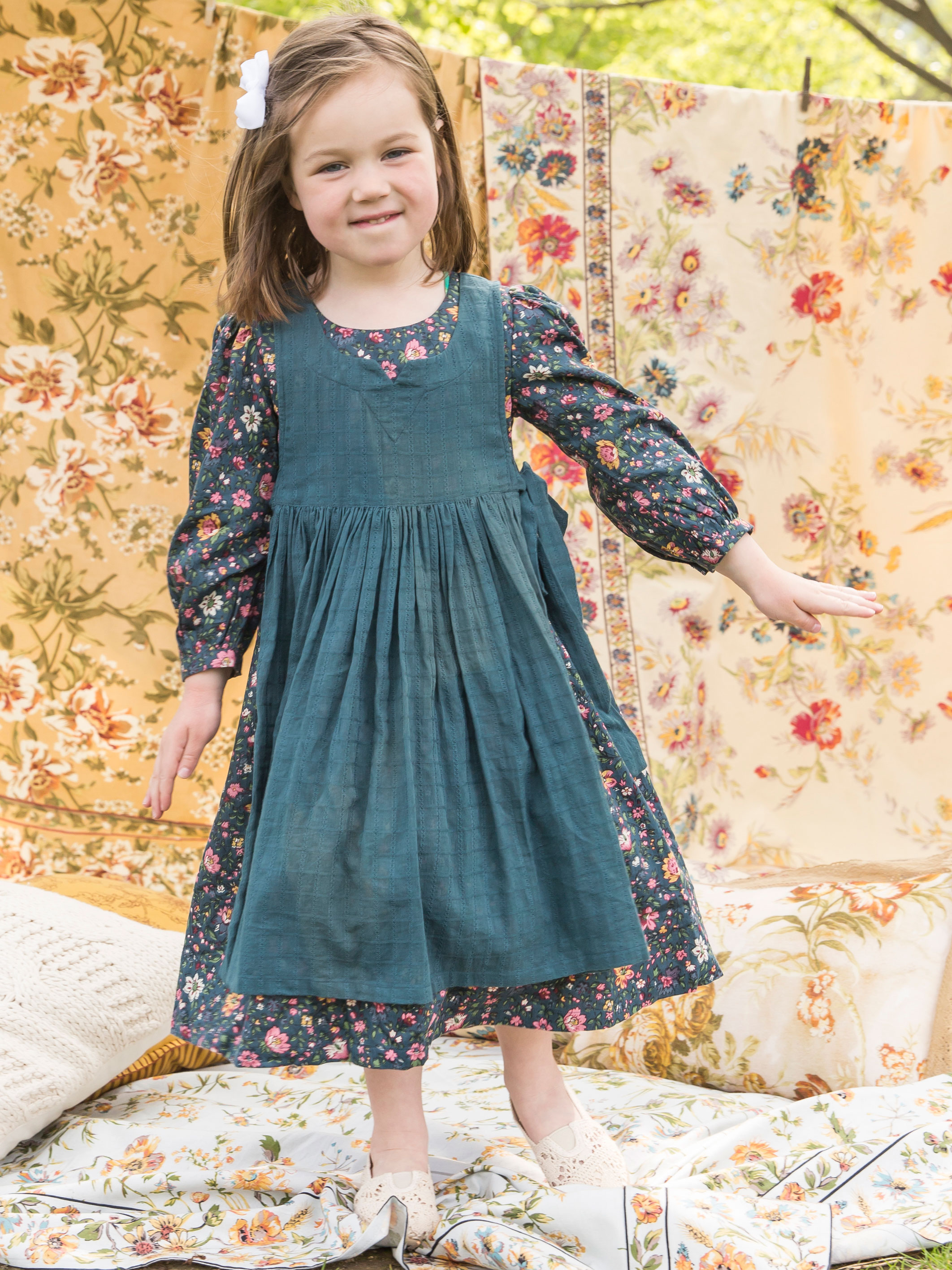 Heather Prairie Girls Dress