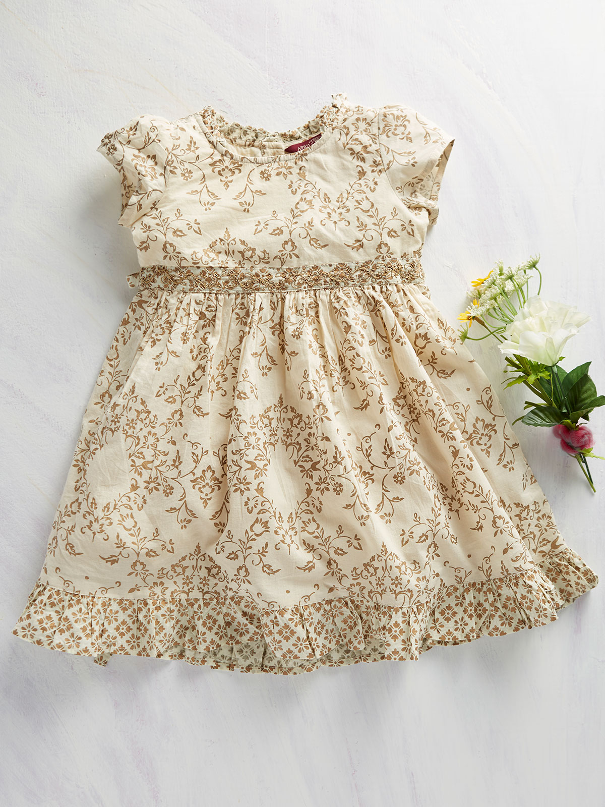 Goldenflower Girls Dress