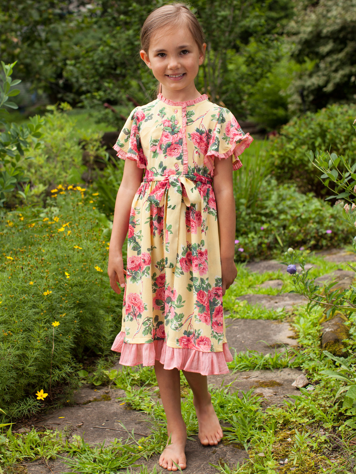 Sunny Girls Dress