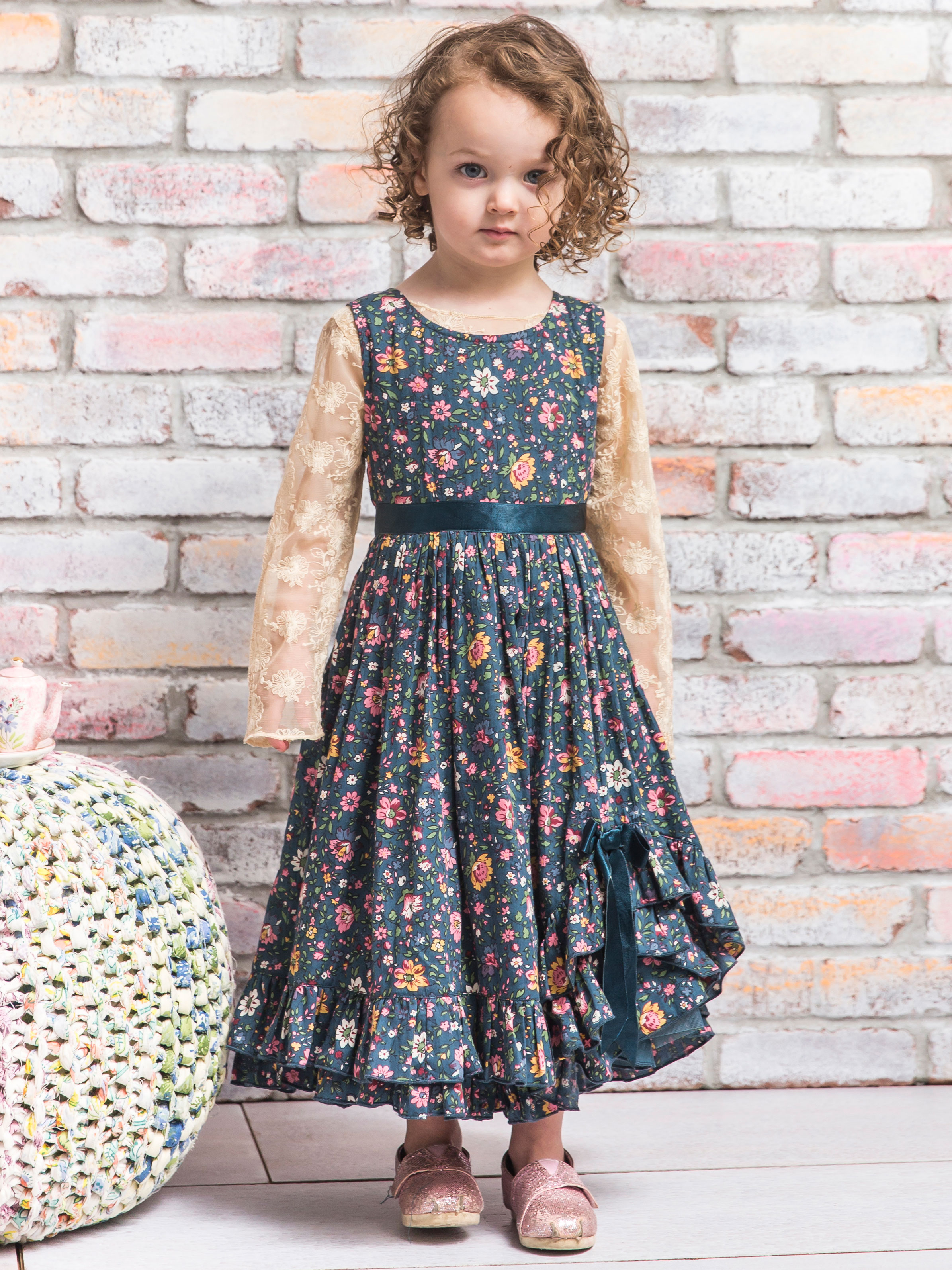 Heather Party Girls Dress
