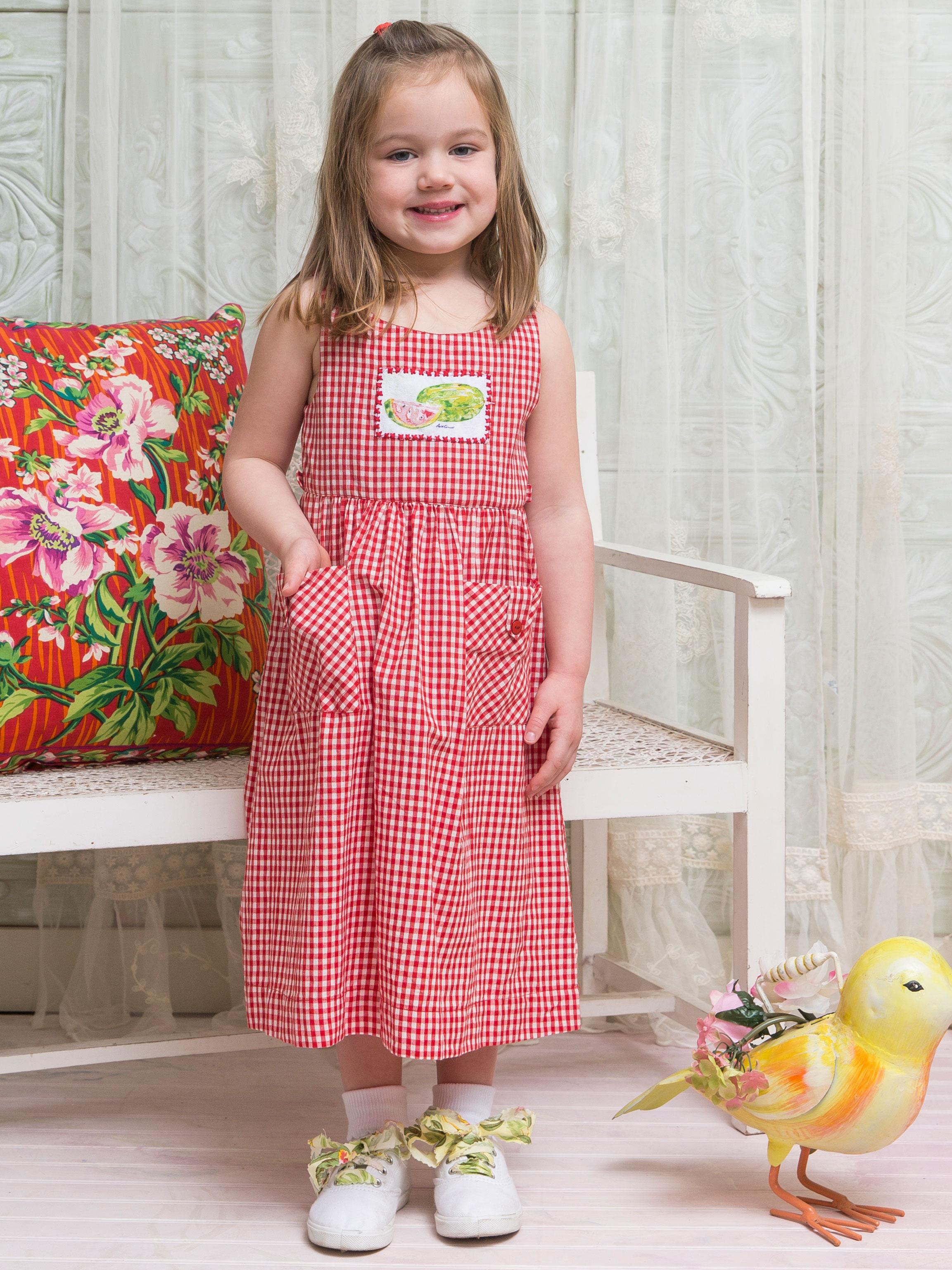 Watermelon Girls Dress