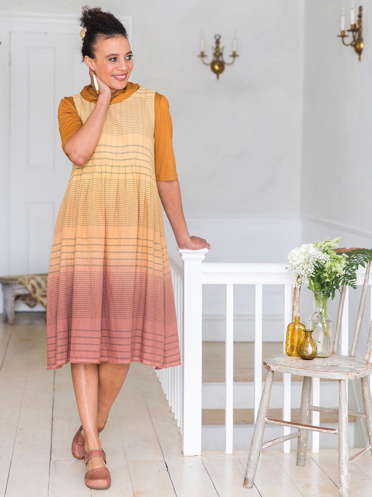 French Stripe Dress