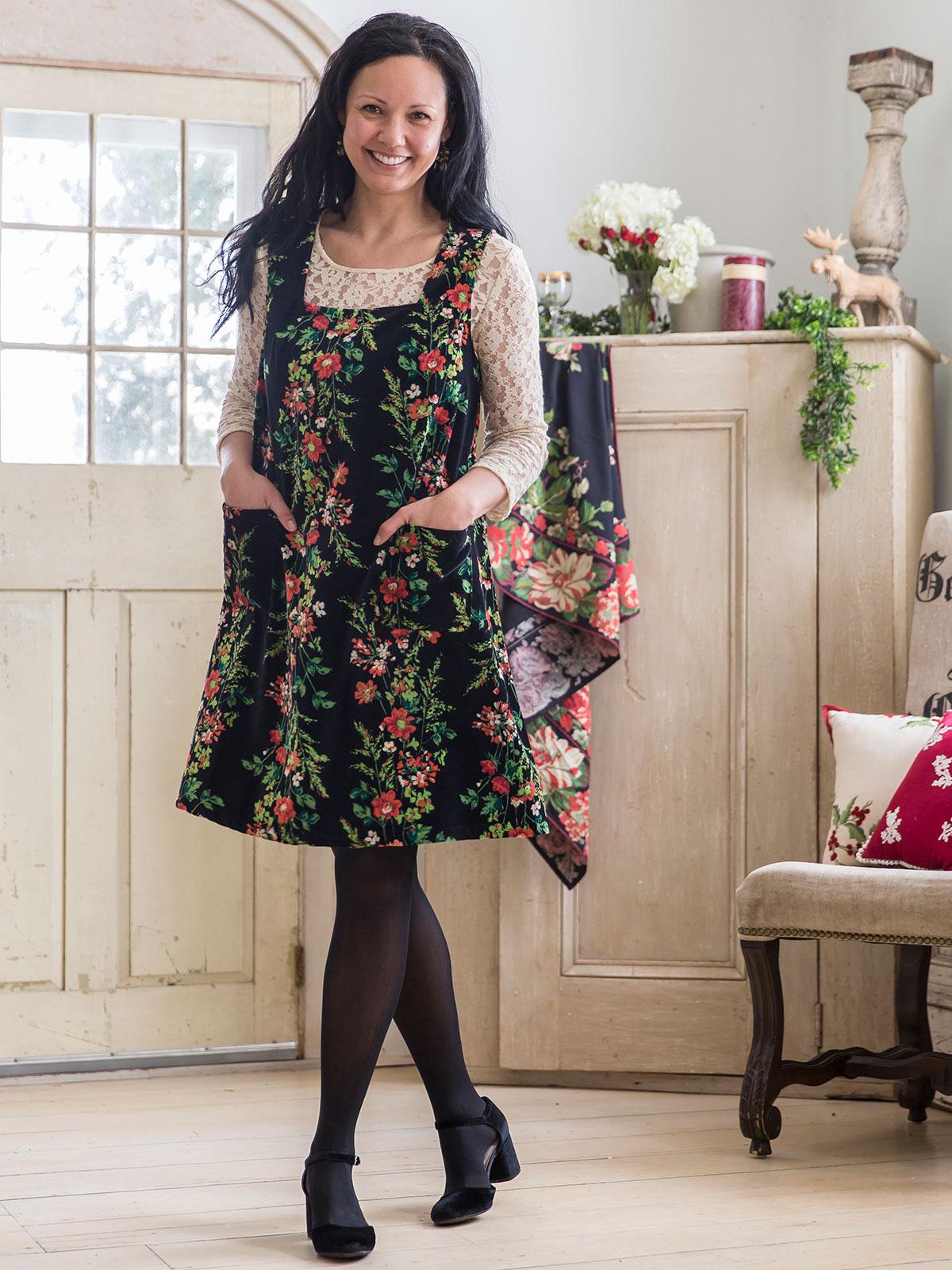 Prairie Velvet  Dress