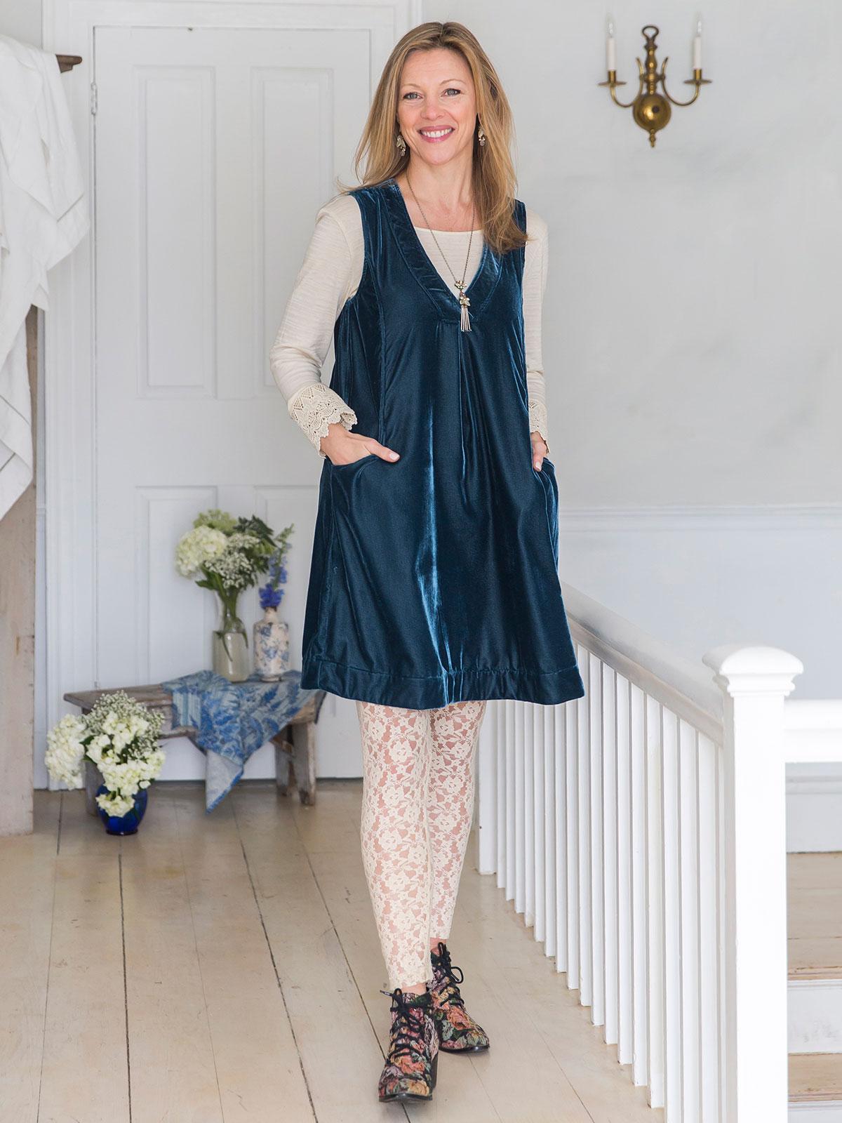 Jewel Velvet  Dress