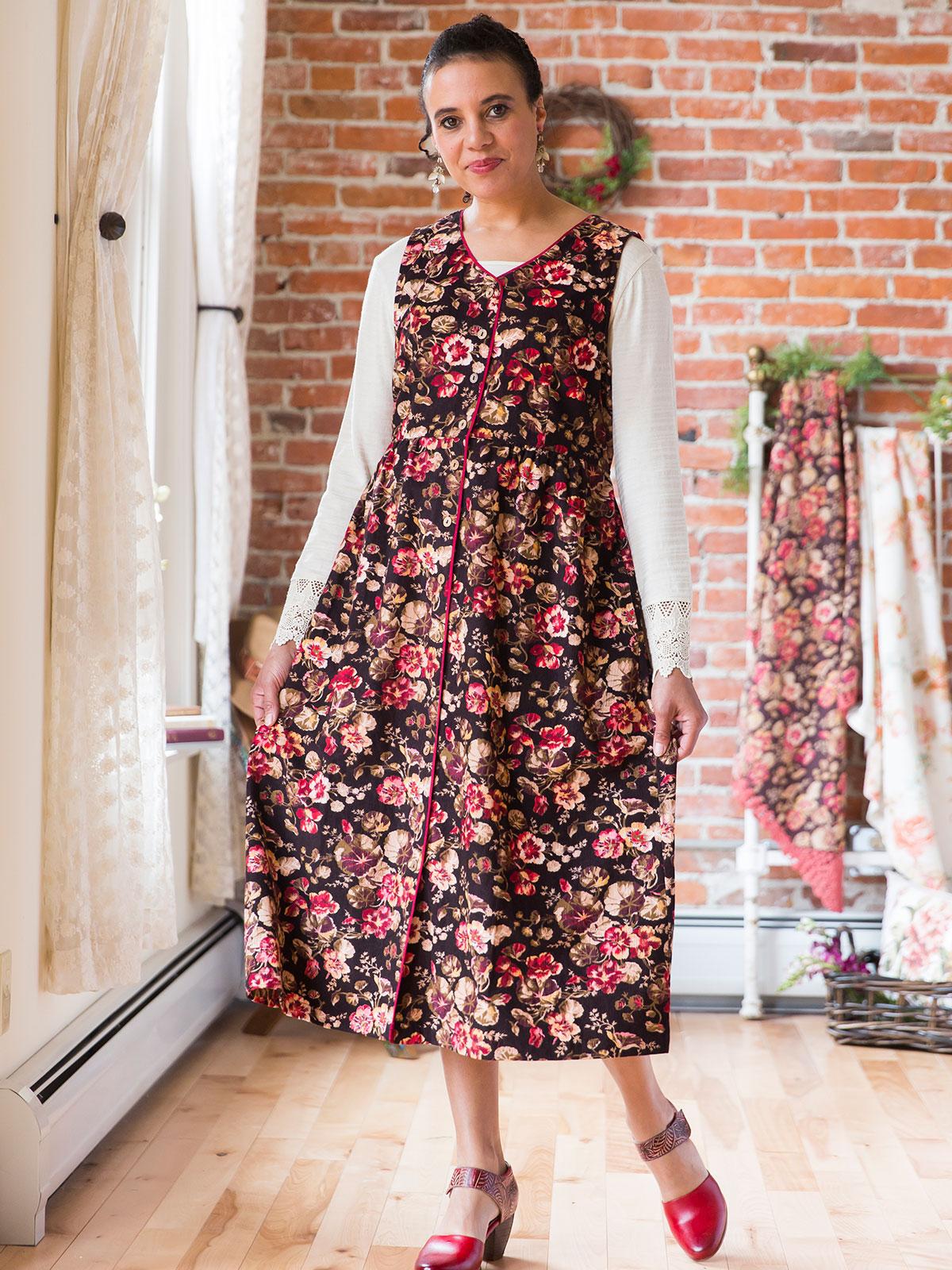 Nasturtium Pinafore Dress